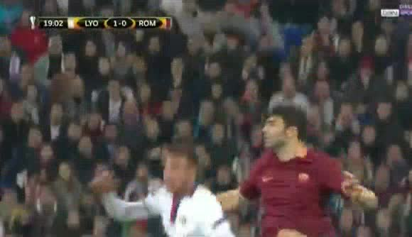Lyon AS Roma goals and highlights