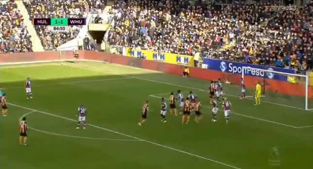 Hull West Ham goals and highlights