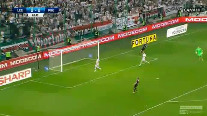 Legia Pogon Szczecin goals and highlights