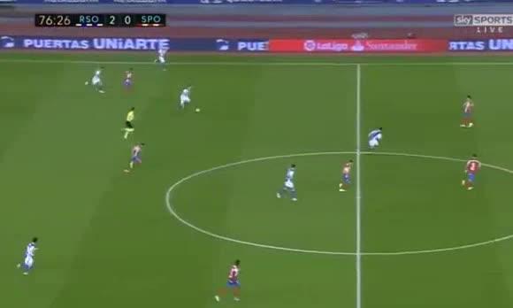 Real Sociedad Gijon goals and highlights
