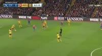Yohan Cabaye scores in the match Crystal Palace vs Arsenal