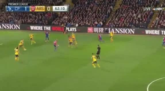 Crystal Palace Arsenal goals and highlights