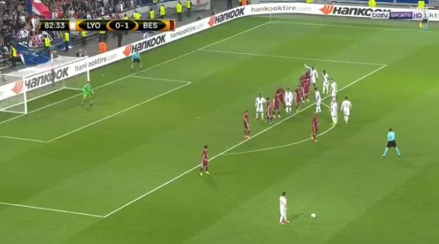 Lyon Besiktas goals and highlights
