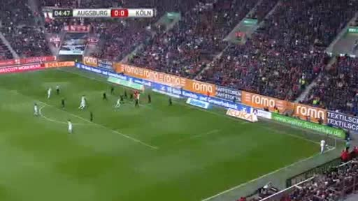 Augsburg Köln goals and highlights