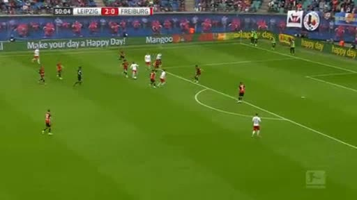 RB Leipzig Freiburg goals and highlights