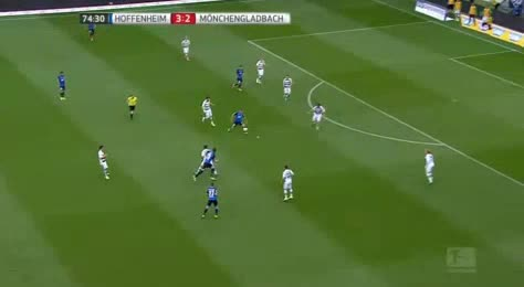 Hoffenheim Borussia Moenchengladbach goals and highlights