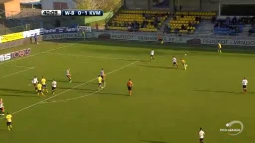 Waasland Mechelen goals and highlights