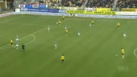 Abdul Ajagun scores in the match Roda vs Sparta Rotterdam