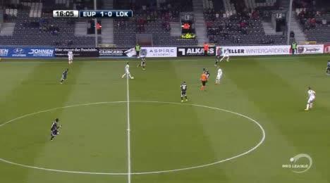 Eupen Lokeren goals and highlights