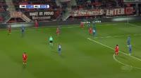 Fredrik Jensen scores in the match Twente vs Nijmegen