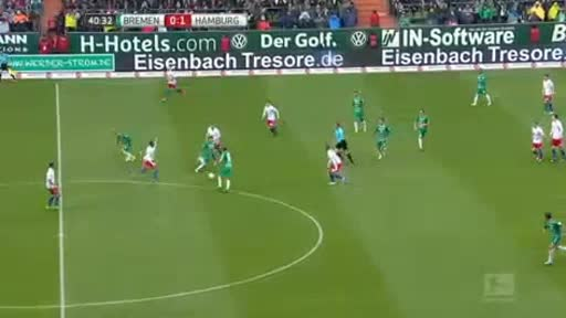 Werder Bremen Hamburger goals and highlights