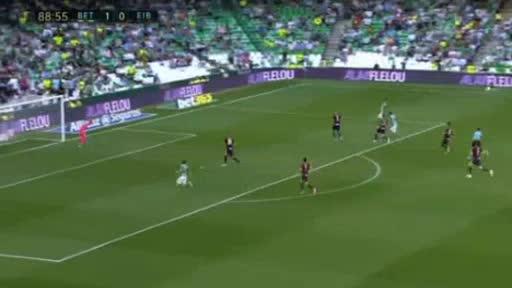 Betis Eibar goals and highlights