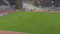 Edwin Alpire scores in the match San Jose vs Nacional Potosi