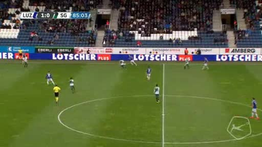 Luzern St. Gallen goals and highlights