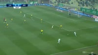 Marco Paixao scores in the match Lechia Gdansk vs Arka Gdynia