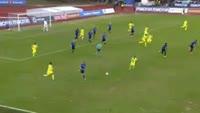 Ohi Omoijuanfo scores in the match Stabaek vs Sarpsborg 08