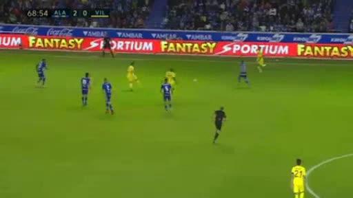 Alaves Villarreal goals and highlights