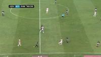 Richmond Boakye scores in the match Crvena zvezda vs Partizan