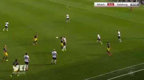 Altach Salzburg goals and highlights