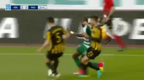 AEK Panathinaikos goals and highlights