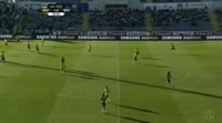 Alan Ruiz scores in the match Arouca vs Sporting Lisbon