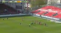 Bakaye Dibassy scores in the match Brest vs Amiens SC