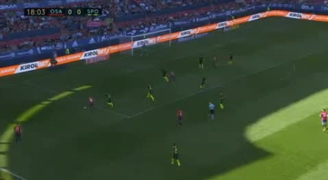 Osasuna Gijon goals and highlights