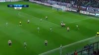Tomas Necid scores in the match Cracovia vs Legia