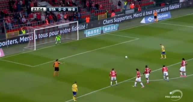 Standard Liege Waasland goals and highlights