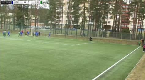 Utenis Zalgiris goals and highlights
