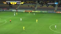 Mirko Ivanic scores in the match BATE vs Brest