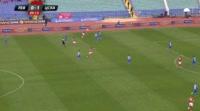 Kiril Despodov scores in the match Levski vs CSKA-Sofia