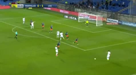 Montpellier Lille goals and highlights