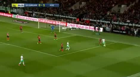 Guingamp St. Etienne goals and highlights