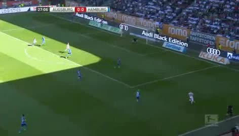 Augsburg Hamburger goals and highlights