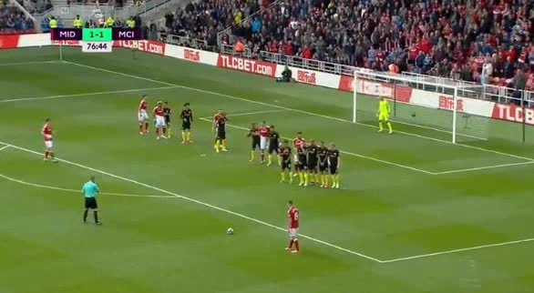 Middlesbrough Manchester City goals and highlights
