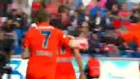 Cengiz Under scores in the match Basaksehir vs Besiktas