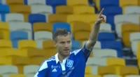 Andriy Yarmolenko scores in the match Ch. Odessa vs Dynamo Kiev