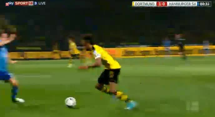 Borussia Dortmund Hamburger goals and highlights