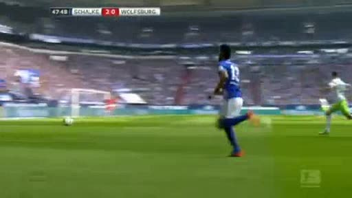 Schalke Wolfsburg goals and highlights