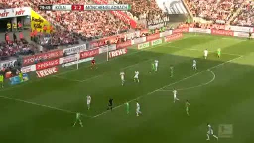 Köln Borussia Moenchengladbach goals and highlights