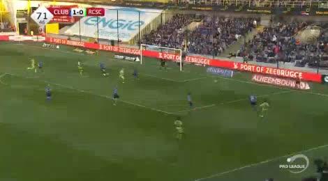 Club Brugge Charleroi goals and highlights
