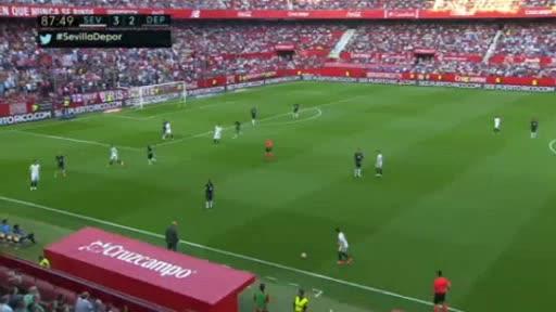 Sevilla Deportivo La Coruna goals and highlights