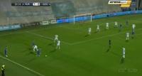 El Arbi Soudani scores in the match Rijeka vs Din. Zagreb