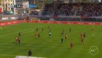 Moussa Konate scores in the match Lugano vs Sion