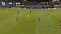 Oscar Cardozo scores in the match Levadiakos vs Olympiakos Piraeus