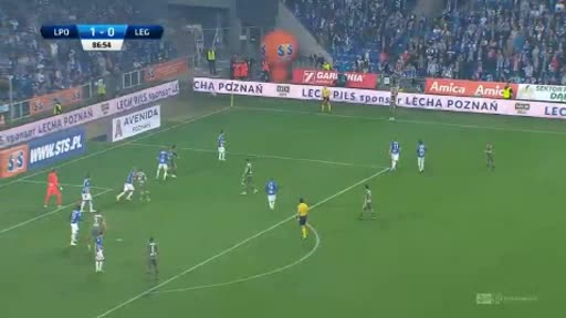 Lech Poznan Legia goals and highlights