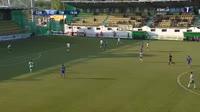 Sebastian Mailat scores in the match Concordia vs Poli Timisoara