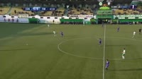 Cristian Albu scores in the match Concordia vs Poli Timisoara