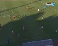 Uros Djurdjevic scores in the match Partizan vs Vojvodina